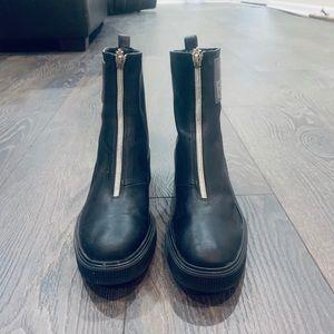 Fendi Zip Booties
